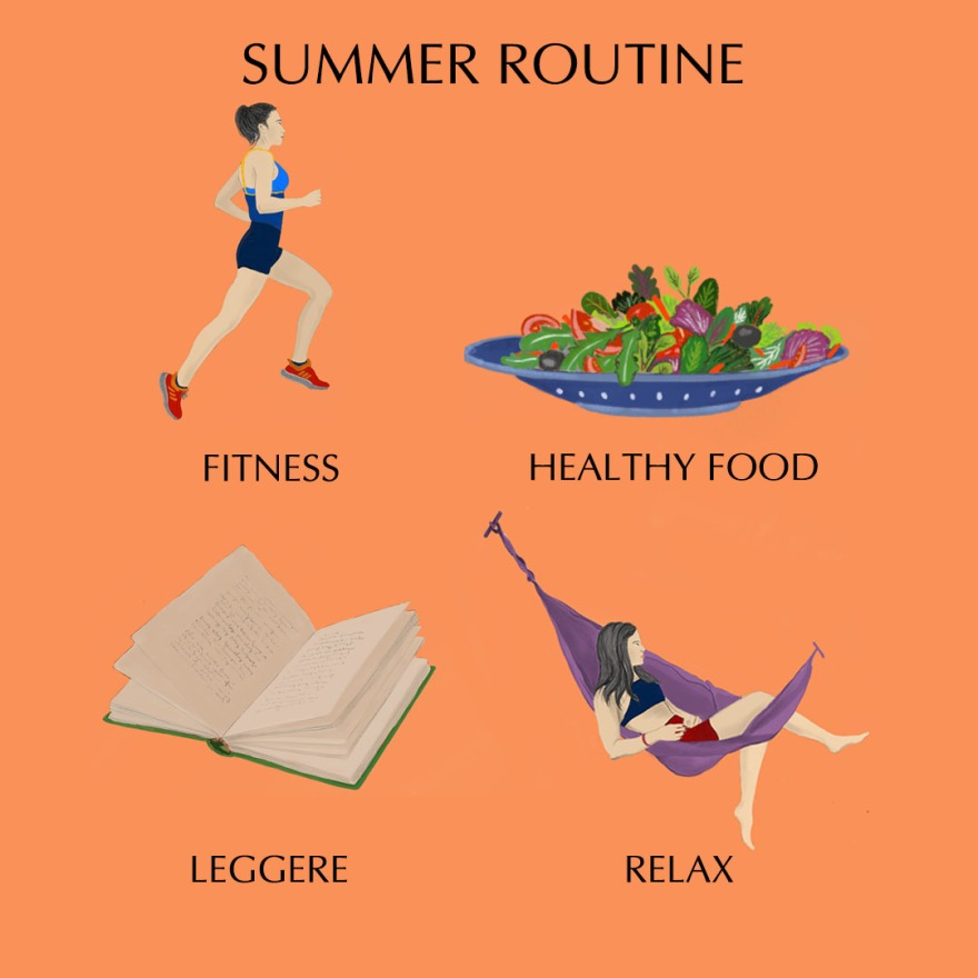 summer routine vice 2018